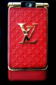 Телефон LOUIS VUITTON V8 Red