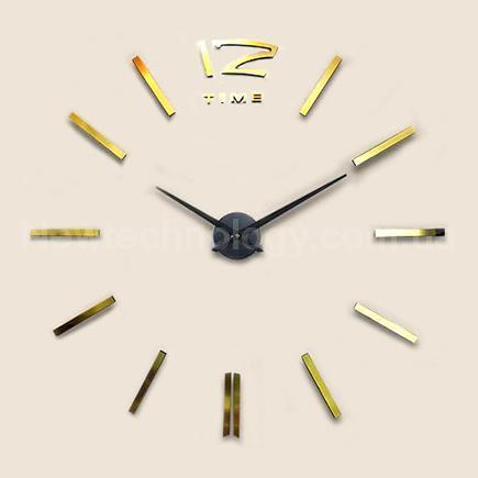 Эксклюзивные необычные дизайнерские настенные часы Design Big Gold ... cd2b68c07657a