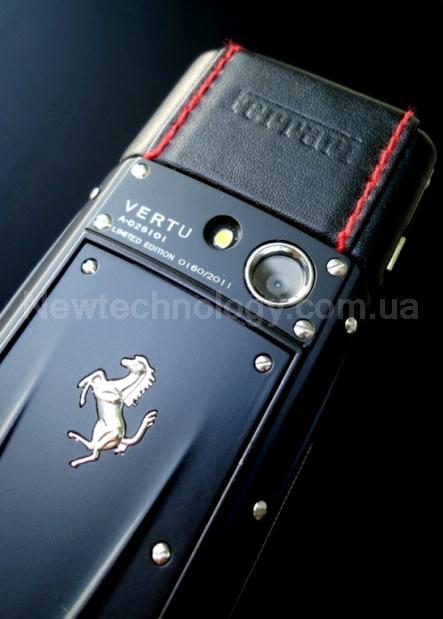 8ab5de47c58f ... Телефон VERTU Ascent Ti Ferrari Nero - Новинка Верту Феррари в Украине